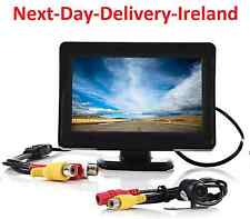 "4.3"" TFT LCD Car Rear View Mirror Monitor Rearview Backup Reverse Camera Kit"