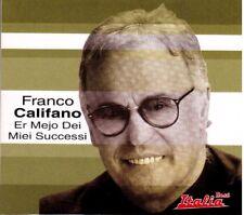 Franco Califano: Er Mejo Dei Miei Successi, Best Italia - CD