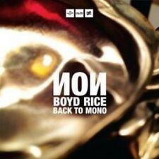 Non - Back To Mono (NEW CD)