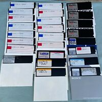 "MS DOS 6.22 6.2 5.25"" Floppy Disk Lot PC Software Computer Vintage Microsoft"