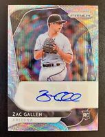 2020 Panini Prizm ZAC GALLEN Autograph Silver Wave Prizm SP /50 Diamondbacks RC