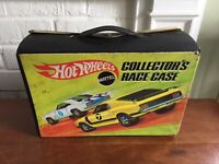 1969 Mattel HOT WHEELS Redline Collectors RACE CASE - Fits 24 Cars