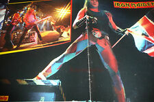 German Iron Maiden Poster wow live 80er Jahre very rare Pop Rocky