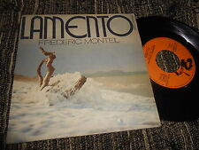"""FREDERIC MONTIEL Lamento/Instrumental 7"""" Barclay FRANCE FRENCH"""
