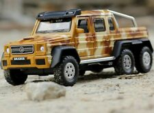Mercedes-Benz Brabus G63 6x6 Six-wheeled 1:32 Scale Diecast Metal Model Car Toy