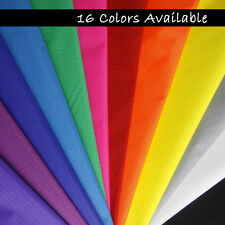 Hot 12yds 12color Waterproof Ripstop Nylon Fabric Material Kite Flag Tent Making