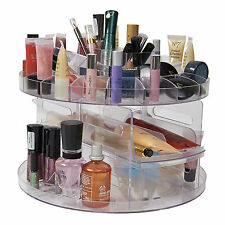 Millones de EUR versátil Giratorio Belleza Caddy cosméticos Organizador Make Up Box Holder