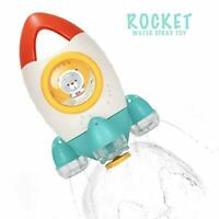 HengGL Baby Bath Toy - Fountain Rocket Bath Toys for 1 2 3 4 5 Year Old Kids Fun