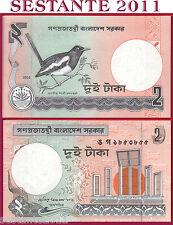 BANGLADESH    -    2 TAKA 2002    -   P 6Ce    -  FDS / UNC