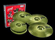 "Paiste PST3 Cymbal Set/Free 16"" Crash, Cow Bell, Stick Bag & Sticks W/Purchase!!"