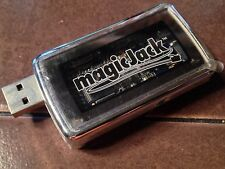 Magic Jack Model A921 Silver USB Phone Jack VOIP Adapter, NOS