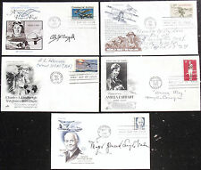 Early Aviators Signed Covers Collection Corrigan, Wade, Ogden, Harvey, Engel