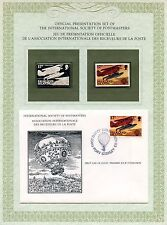 FIRST DAY OF ISSUE / 1° JOUR / STAMP / TIMBRE ARGENT / 1° VOL HUMAIN / ISLANDS