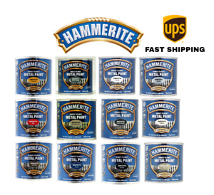 Hammerite Direct To Rust Metal Paint Smooth 250ml - All Colours Available UK