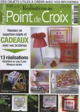 Magazine Réalisations au Point de Croix 4 Décembre 2009 COUSSIN CLOCHE A THIERE