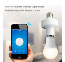 Module Home Sonoff E27 Slampher WiFi 433MHz Wireless Light Holder Smart Switch