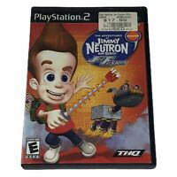 Adventures of Jimmy Neutron Boy Genius: Jet Fusion (Sony PlayStation 2 2003)