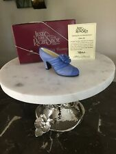 Mint Willitts Design Just the Right Shoe, 20th Century, Class Act #25042Retired