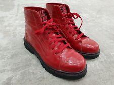 Vans Sk8 Hiker Red Boots Sneakers UK 6.5