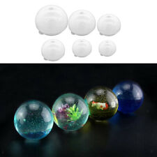 2 sets Silicone Mould Resin Round Ball DIY Pendant Mold Making Craft Tool