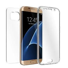 TPU Crystal Clear Cover Full Body Protective Case For Samsung Galaxy S7 Edge HOT