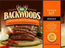 Backwoods Bratwurst Fresh Sausage Kit Makes up to 20lbs of Delicious Sausage
