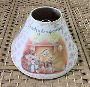 Country Companions Vintage Children's Light Shade Rare 90s Retro Light Shade