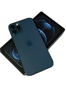 Apple iPhone 12 Pro - 128GB - Pacific Blue (Unlocked) Nice!!!
