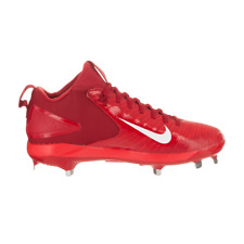 Nike Trout 3 Pro sz 8-12 Red Blue 856498 White Mid Force Zoom Metal Cleat $85