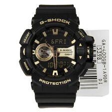 * Nouveau * CASIO HOMME G SHOCK Gold Watch Oversize XL GA-400GB-1A9 RRP £ 169