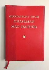 Quotations From Chairman Mao Tsetung 1966 1967 1977