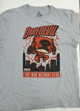 Funko Pop Tees marvel Daredevil The Man Without Fear Men's T-Shirt Size XL