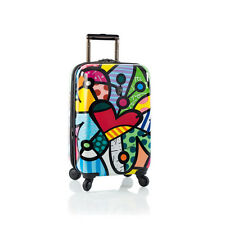 """HEYS ROMERO BRITTO COLLECTION USA BUTTERFLY LOVE 21"""" SPINNERS LUGGAGE * NEW **"""