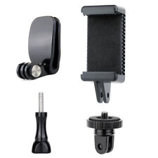 Backpack Clip Clamp Mount Adapter with Phone Clip Holder for GoPro Hero 8 7 6 5