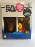 Dungeon Keeper and Magic Carpet 2 EA Classics pc game NEW SEALED BIG BOX