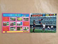 Álbum Campeonato De  Liga 1973-74 Fher Disgra Con Poster Central