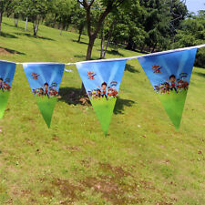 Paw Patrol Banner Bunting Flag Happy Birthday Rubble Marshall Ryder 2.5 Meter