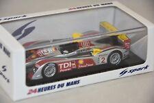 Spark 43LM08 - AUDI R10 TDI n°2 Vainqueur 24H Le Mans 2008 Capello – McNis 1/43