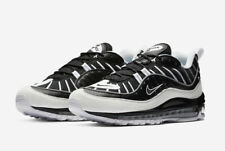new arrival 27bd2 627d3 NIKE AIR MAX 98 BLACK WHITE REFLECTIVE SILVER 640744 010 GUNDAM BRAND NEW