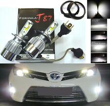 LED Kit C6 72W P45t 6000K White Two Bulbs Head Light High Low Beam Replace Bike