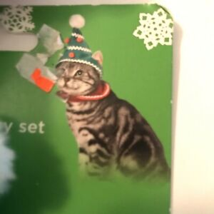 Time for Joy Purrfect Christmas Tree Helper Cat headpiece - one size