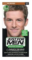 Just for Men Shampoo-in Hair Color, Ash Brown H-20+ Eyebrow Trimmer