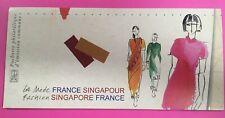 EMISSION COMMUNE FRANCE SINGAPOUR LA MODE FASHION 2013   SANS BLISTER