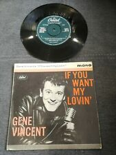 Disque 45 tours - Gene Vincent ‎- If You Want My Lovin' - EAP1 20173