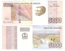 Angola _ 5000 Kwanzas 2012 ( 2020 ) UNC P. 158 New, New sign. Lemberg-Zp