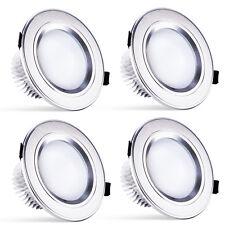 4X 9W LED 3X3W Recessed Ceiling Light Downlight Spot Lamp Warm White 100-240V