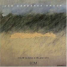 Jan Garbarek - It's Ok to Listen to the Gray Voice [New CD]