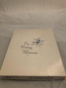 Vintage 1967 Gibson Wedding Memories Album Book New In Original Box