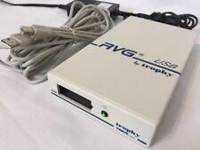 Trophy Sensor RVG USB Box X-Ray Digital Dental Imaging CI638 w Power Supply TREX