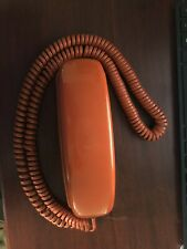 Vintage Western Electric Trimline Push Button Burnt Orange Telephone